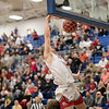 Tyler Nickel goes in to cap off the Eagles run with a dunk
