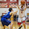 Kaleb Strawderman guards Collin Wigley