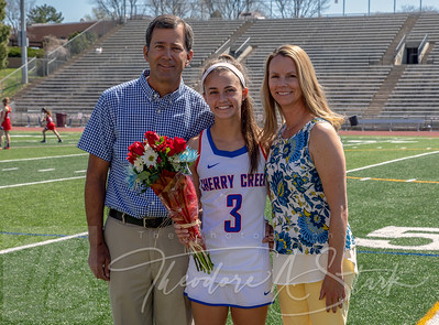 2018 CCHS Girls Lacrosse Senior Day