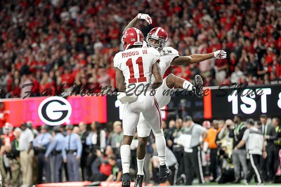 NCAA FOOTBALL: CFP National Championship Alabama defeats Georgia 26 - 23