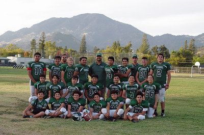 2018 Calistoga Cub Football
