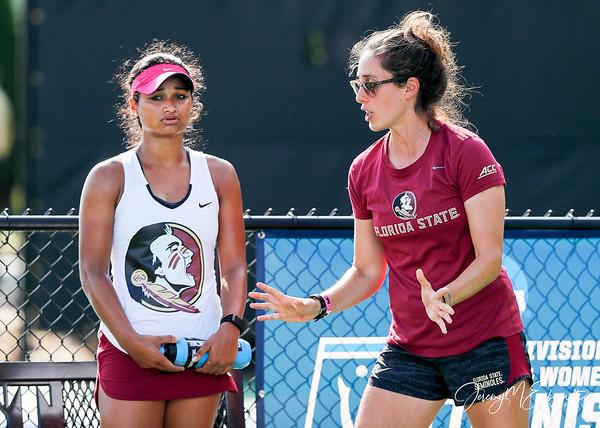 FSU Women's Tennis vs Vandy- NCAA Championships - 05-19-2018