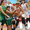 12-1-18<br /> Maconaquah vs Eastern girls basketball<br /> Eastern's Jeanie Crabtree and Mac's Ashley Jess battle over the ball.<br /> Kelly Lafferty Gerber | Kokomo Tribune
