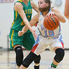 12-1-18<br /> Maconaquah vs Eastern girls basketball<br /> Mac's McKeena Wilson dribbles down the court as Eastern's Lexi James puts on the defense.<br /> Kelly Lafferty Gerber | Kokomo Tribune