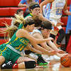 12-1-18<br /> Maconaquah vs Eastern girls basketball<br /> Eastern's Jeanie Crabtree and Mac's Alex Merritt go after a loose ball.<br /> Kelly Lafferty Gerber | Kokomo Tribune