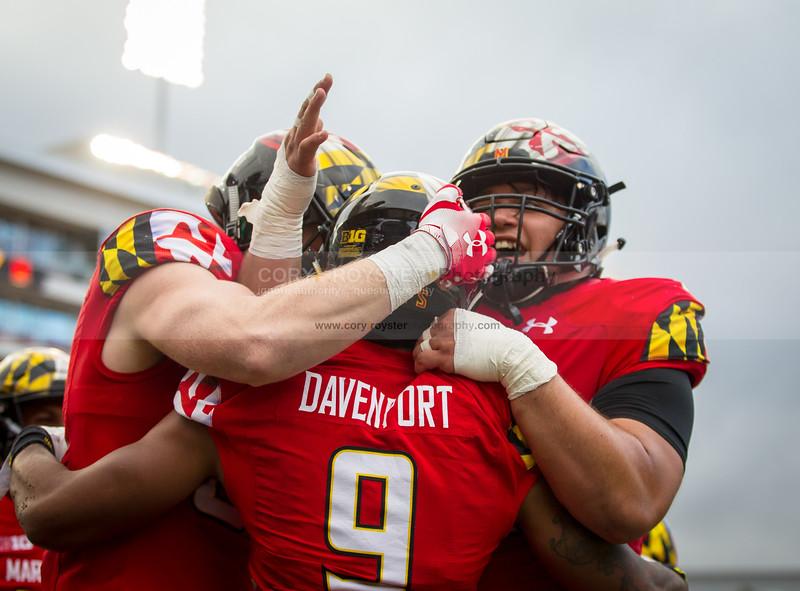 NCAA Football 2018: Illinois vs. Maryland OCT 27