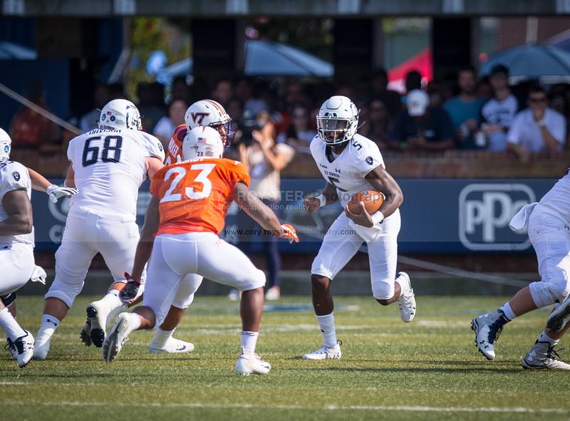 NCAA Football: Virginia Tech at Old Dominion