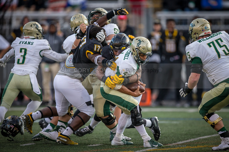 NCAA Football: William and Mary vs. Towson Oct 13