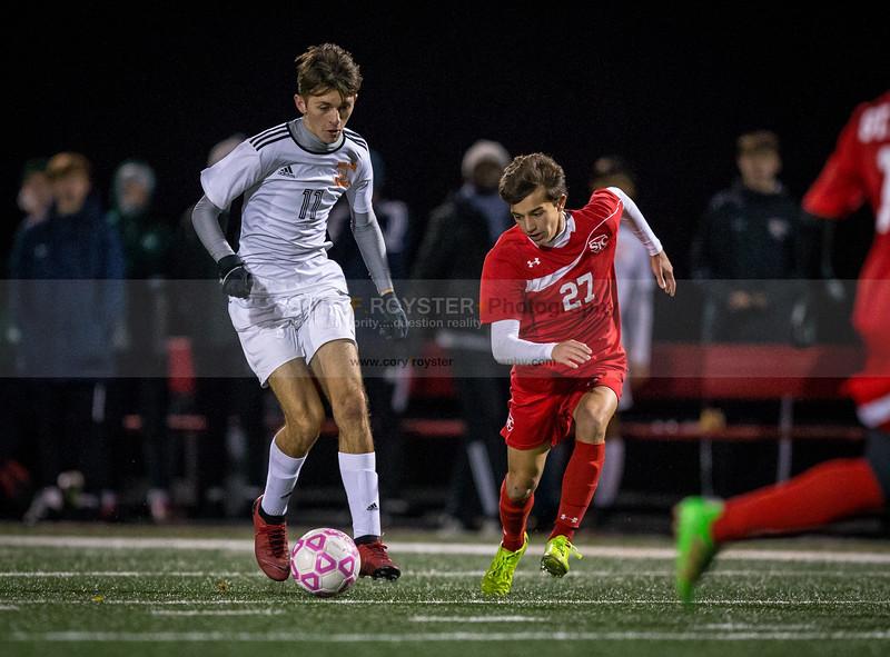 Wilson vs. St. Johns - 2018 DCSAA Boys Soccer Championship