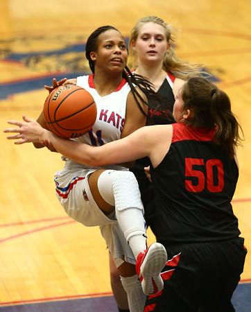 1-16-18<br /> Kokomo vs Logansport girls basketball<br /> <br /> Kelly Lafferty Gerber | Kokomo Tribune