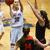 1-16-18<br /> Kokomo vs Logansport girls basketball<br /> Brittany Barnard shoots.<br /> Kelly Lafferty Gerber | Kokomo Tribune