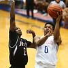 1-26-18<br /> Kokomo vs Lafayette Jeff boys basketball<br /> Kokomo's Jeremy Baker shoots.<br /> Kelly Lafferty Gerber | Kokomo Tribune