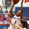 1-16-18<br /> Kokomo vs Logansport girls basketball<br /> Tionna Brown puts up a shot.<br /> Kelly Lafferty Gerber | Kokomo Tribune