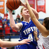1-25-18<br /> Kokomo vs Tipton girls basketball<br /> Tipton's Rachel Majors shoots.<br /> Kelly Lafferty Gerber | Kokomo Tribune