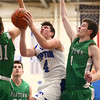 1-5-18<br /> Tipton vs Yorktown boys basketball<br /> Tipton's Lukas Swan shoots.<br /> Kelly Lafferty Gerber | Kokomo Tribune