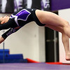 1-20-18<br /> Northwestern-Western gymnastics<br /> NW's Catie Smith on the floor.<br /> Kelly Lafferty Gerber | Kokomo Tribune
