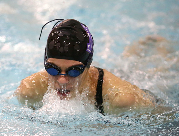 1-9-18<br /> Northwestern vs Eastern swimming<br /> NW's Sophia Yager-Motl in the girls 200 yard medley relay.<br /> Kelly Lafferty Gerber | Kokomo Tribune