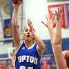 1-25-18<br /> Kokomo vs Tipton girls basketball<br /> Tipton's Rachael Ressler shoots.<br /> Kelly Lafferty Gerber | Kokomo Tribune