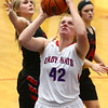 1-16-18<br /> Kokomo vs Logansport girls basketball<br /> Madison Wood shoots.<br /> Kelly Lafferty Gerber | Kokomo Tribune