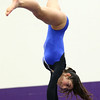1-20-18<br /> Northwestern-Western gymnastics<br /> Western's Katie Devine on the beam.<br /> Kelly Lafferty Gerber | Kokomo Tribune