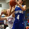 1-25-18<br /> Kokomo vs Tipton girls basketball<br /> Tipton's Cassidy Crawford shoots.<br /> Kelly Lafferty Gerber | Kokomo Tribune