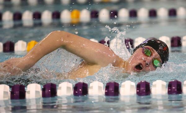 1-9-18<br /> Northwestern vs Eastern swimming<br /> NW's Drew Gingerich inthe boys 200 freestyle.<br /> Kelly Lafferty Gerber | Kokomo Tribune