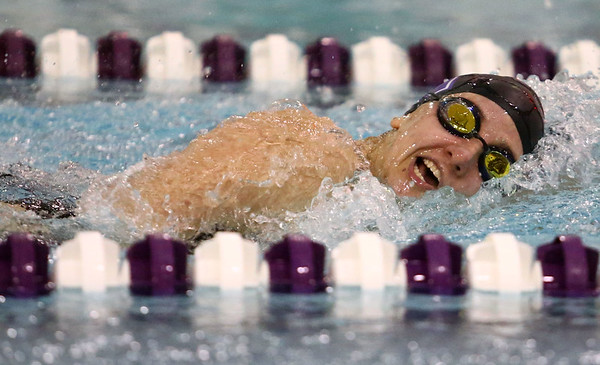 1-9-18<br /> Northwestern vs Eastern swimming<br /> NW's Grace Bourff in the girls 200 IM.<br /> Kelly Lafferty Gerber | Kokomo Tribune