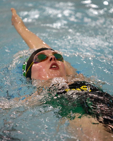 1-9-18<br /> Northwestern vs Eastern swimming<br /> Eastern's Kristina Standish in the girls 200 yard medley relay.<br /> Kelly Lafferty Gerber | Kokomo Tribune