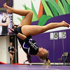 1-20-18<br /> Northwestern-Western gymnastics<br /> NW's Regan Gross on the floor.<br /> Kelly Lafferty Gerber | Kokomo Tribune