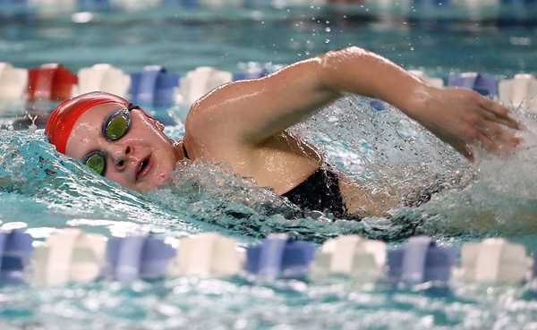 1-11-18<br /> Kokomo swimming<br /> Madison Cleaver in the girls 200 freestyle.<br /> Kelly Lafferty Gerber | Kokomo Tribune