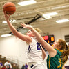 1-2-18<br /> Northwestern vs Eastern girls basketball<br /> NW's Taylor Boruff shoots.<br /> Kelly Lafferty Gerber | Kokomo Tribune