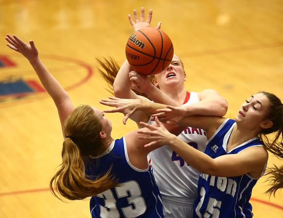 1-25-18<br /> Kokomo vs Tipton girls basketball<br /> <br /> Kelly Lafferty Gerber | Kokomo Tribune
