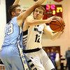 1-19-18<br /> Western vs Maconaquah boys basketball<br /> Western's Cooper O'Neal looks to the basket.<br /> Kelly Lafferty Gerber | Kokomo Tribune