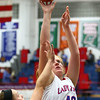1-16-18<br /> Kokomo vs Logansport girls basketball<br /> Madison Wood puts up a shot.<br /> Kelly Lafferty Gerber | Kokomo Tribune