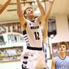 1-19-18<br /> Western vs Maconaquah boys basketball<br /> Cooper O'Neal goes up for a basket.<br /> Kelly Lafferty Gerber | Kokomo Tribune