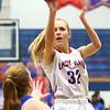 1-25-18<br /> Kokomo vs Tipton girls basketball<br /> Kokomo's Brittany Barnard puts up a shot.<br /> Kelly Lafferty Gerber | Kokomo Tribune