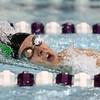 1-9-18<br /> Northwestern vs Eastern swimming<br /> Eastern's Dayle Matheny in the girls 200 freestyle.<br /> Kelly Lafferty Gerber | Kokomo Tribune