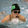 1-9-18<br /> Northwestern vs Eastern swimming<br /> Eastern's Sam Everling in the girls 200 yard medley relay<br /> Kelly Lafferty Gerber | Kokomo Tribune