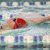 1-11-18<br /> Kokomo swimming<br /> Addison Reckard in the girls 200 IM.<br /> Kelly Lafferty Gerber | Kokomo Tribune