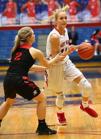 1-16-18<br /> Kokomo vs Logansport girls basketball<br /> Brittany Barnard heads to the basket.<br /> Kelly Lafferty Gerber | Kokomo Tribune