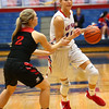 1-16-18<br /> Kokomo vs Logansport girls basketball<br /> Brittany Barnard heads to the basket.<br /> Kelly Lafferty Gerber | Kokomo Tribune
