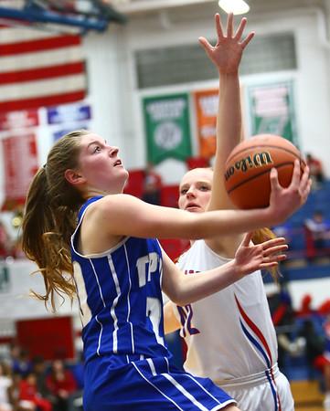 1-25-18<br /> Kokomo vs Tipton girls basketball<br /> Tipton's Kelsey Mitchell looks to the basket.<br /> Kelly Lafferty Gerber | Kokomo Tribune