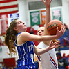 1-25-18<br /> Kokomo vs Tipton girls basketball<br /> Tipton's Kelsey Mitchell looks to the basket.<br /> Kelly Lafferty Gerber | Kokomo Tribune
