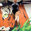 1-20-18<br /> Northwestern-Western gymnastics<br /> NW's Regan Gross on the beam.<br /> Kelly Lafferty Gerber | Kokomo Tribune