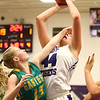 1-2-18<br /> Northwestern vs Eastern girls basketball<br /> NW's Kendall Bostic gets fouled by Eastern but makes the shot.<br /> Kelly Lafferty Gerber | Kokomo Tribune