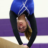 1-20-18<br /> Northwestern-Western gymnastics<br /> Western's Anna Grobengeiser on the beam.<br /> Kelly Lafferty Gerber | Kokomo Tribune