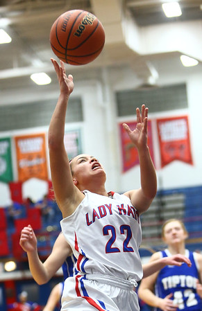 1-25-18<br /> Kokomo vs Tipton girls basketball<br /> <br /> Kelly Lafferty Gerber | Kokomo Tribune