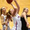 1-16-18<br /> Kokomo vs Logansport girls basketball<br /> Madison Wood shoots.<br /> Kelly Lafferty Gerber | Kokomo Tribune