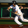 8-1-18<br /> Jackrabbits vs Gems<br /> Neil Lambert bunts.<br /> Kelly Lafferty Gerber | Kokomo Tribune