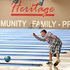 Collin Longshore, 18, bowls at Heritage Lanes on Wednesday, July 25, 2018.<br /> Kelly Lafferty Gerber | Kokomo Tribune